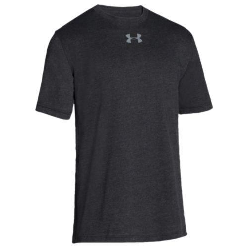 (取寄)アンダーアーマー メンズ チーム スタジアム ショートスリーブ Tシャツ Under Armour Men's Team Stadium S/S T-Shirt Black Steel