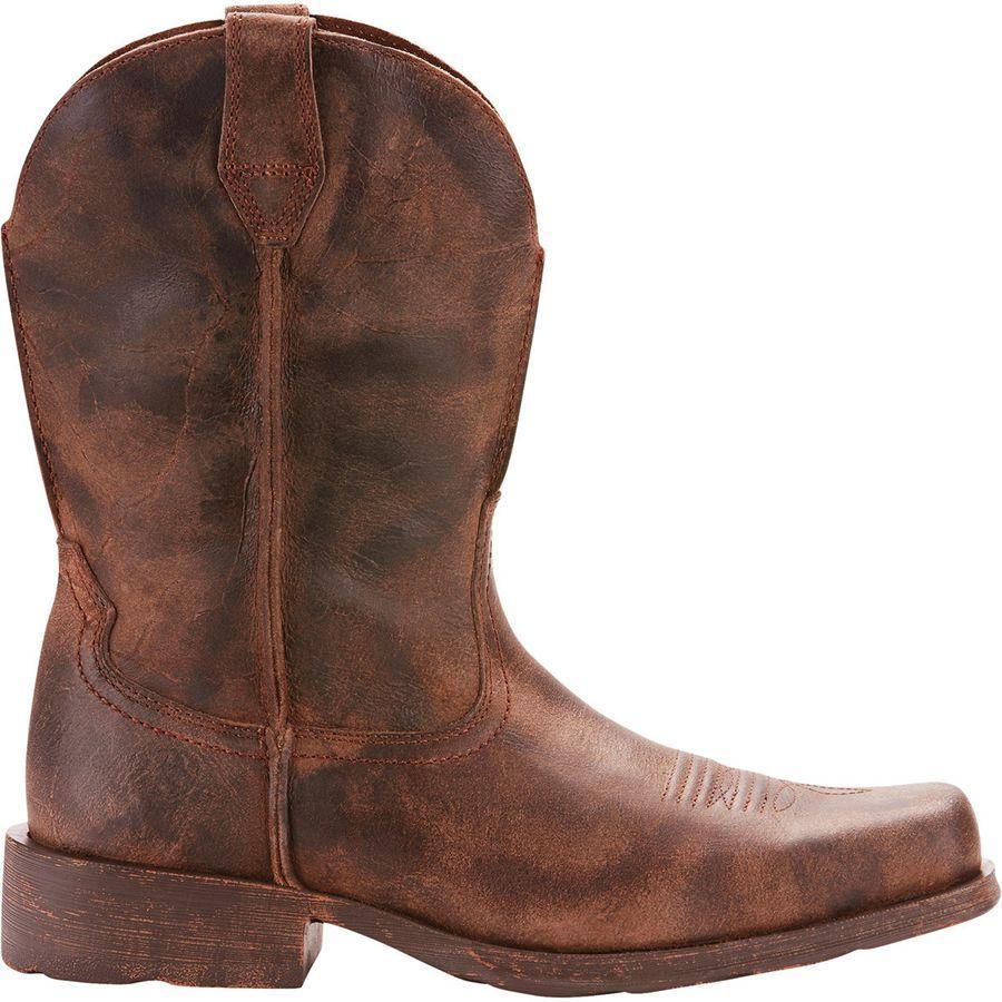 (取寄)アリアト メンズ ランブラー ブーツ Ariat Men's Rambler Boot Antiqued Grey