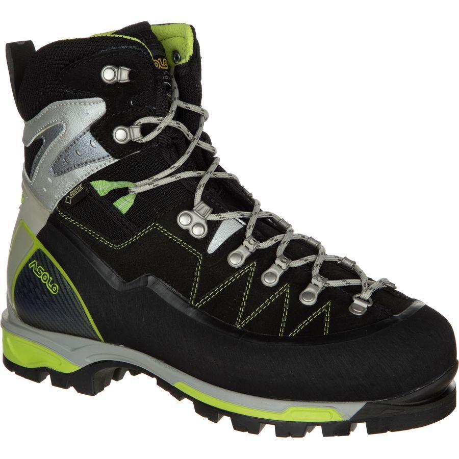 (取寄)アゾロ メンズ アルタ ヴィア GV マウンテニアリング ブーツ Asolo Men's Alta Via GV Mountaineering Boot Black/Green