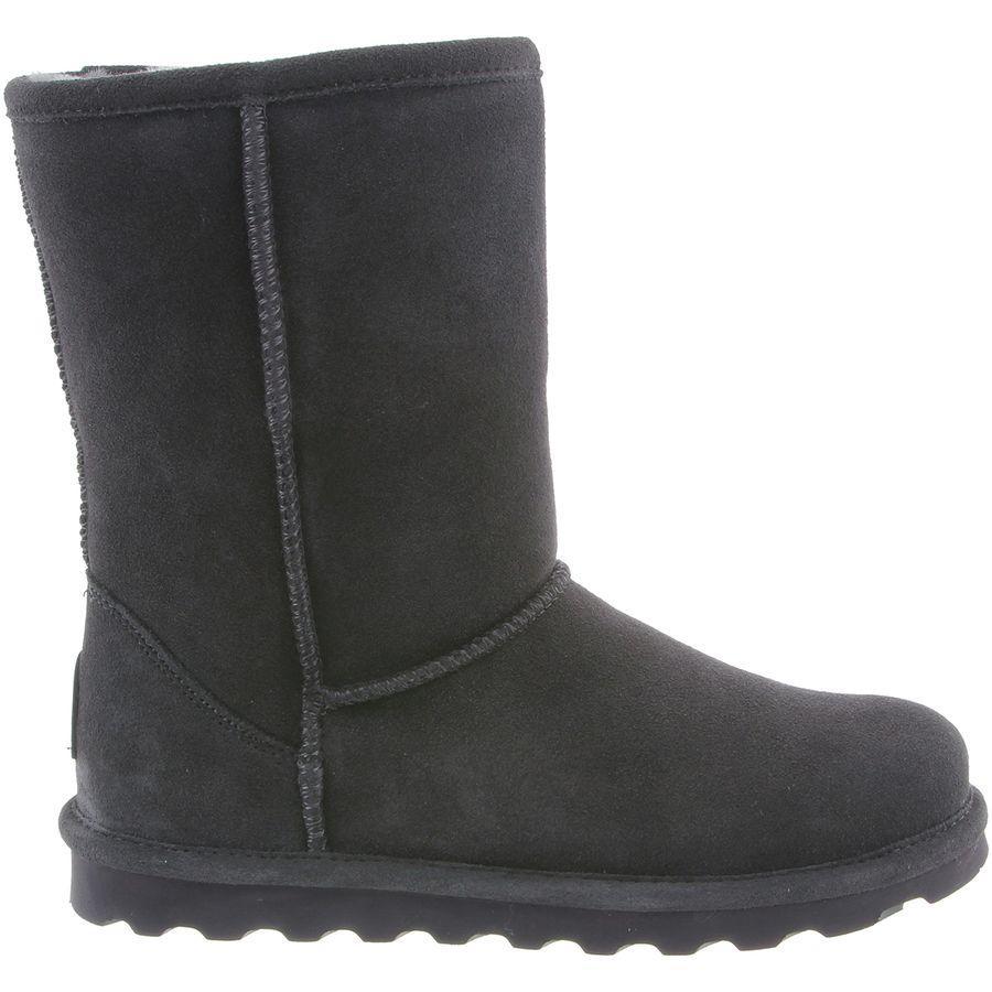 (取寄)ベアパウ レディース エル ショート ブーツ Bearpaw Women Elle Short Boot Charcoal