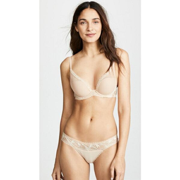 (取寄)Calvin Klein Underwear Women's Perfectly Fit Perennial Lightly Lined Plunge Bra カルバンクライン アンダーウェア レディース パーフェクトリー フィット ペレニアル ライトリー ライン バンジ ブラ Bare