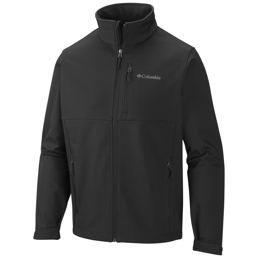 (取寄)コロンビア メンズ アセンダー ソフトシェル ジャケット Columbia Men's Ascender Softshell Jacket Black