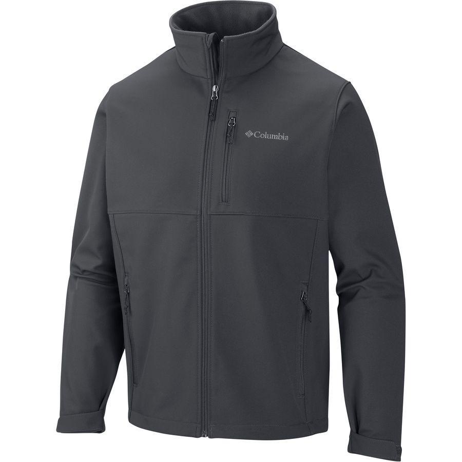 (取寄)コロンビア メンズ アセンダー ソフトシェル ジャケット Columbia Men's Ascender Softshell Jacket Graphite