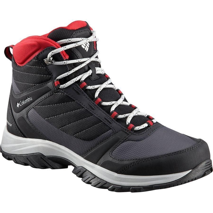 (取寄)コロンビア メンズ テルボンヌ 2 スポーツ ミッド オムニテック ハイキング ブーツ Columbia Men's Terrebonne II Sport Mid Omni-Tech Hiking Boot Black/White【outdoor_d19】