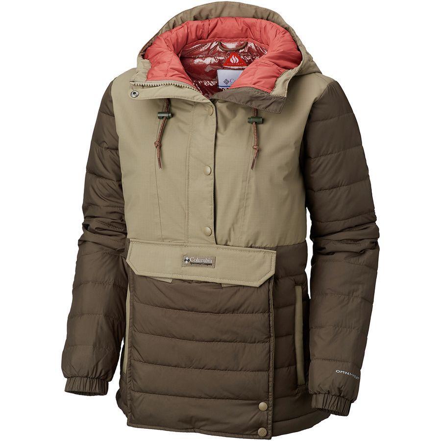 (取寄)コロンビア レディース w ノーウェスター 2 フーデッド ジャケット Columbia Women W Norwester II Hooded Jacket Peatmoss/Sage