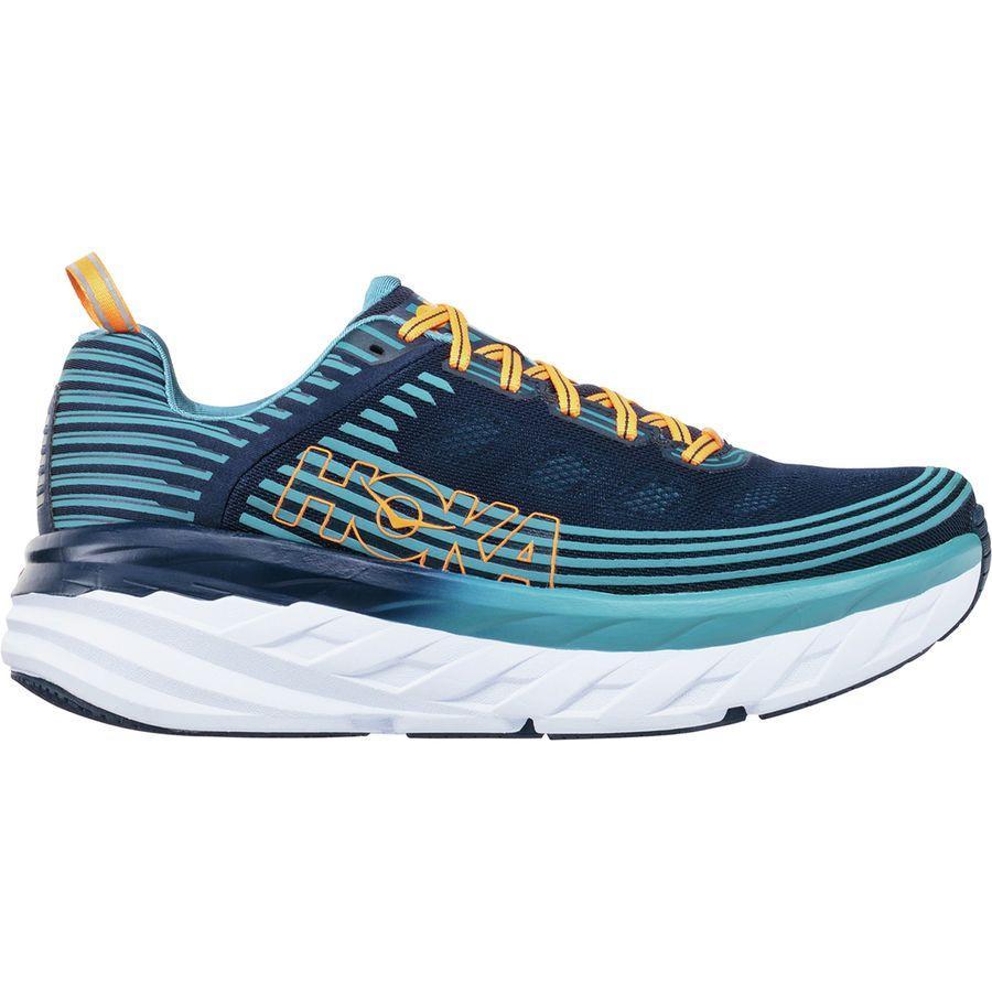 (取寄)ホカ オネオネ メンズ ボンダイ 6 ランニングシューズ Hoka One One Men's Bondi 6 Running Shoe Black Iris/Storm Blue