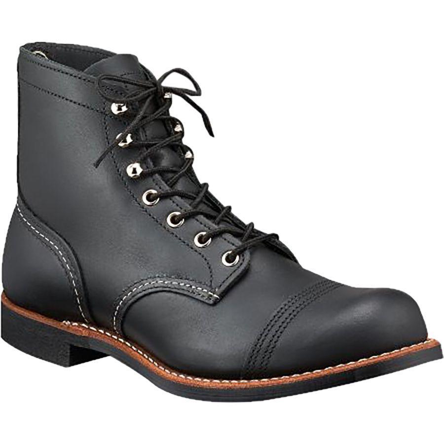 (取寄)レッドウィング メンズ ヘリテイジ 6-Inchアイアン レンジャー ブーツ Red Wing Men's Heritage 6-Inch Iron Ranger Boot Black Harness Leather