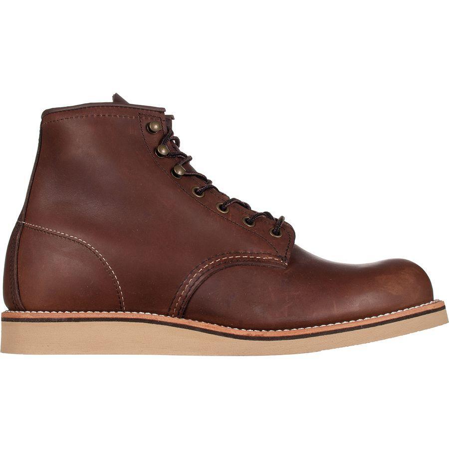 (取寄)レッドウィング メンズ ヘリテイジ ローバー ブーツ Red Wing Men's Heritage Rover Boot Amber Harness Leather