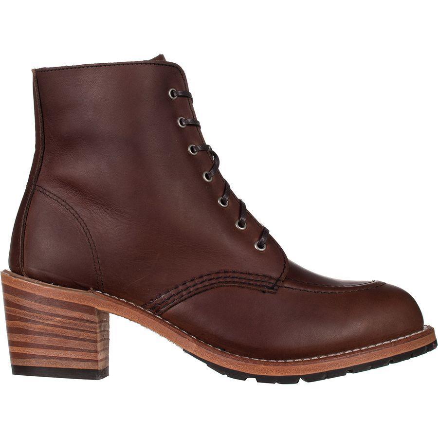 【トレッキング クライミング アウトドア 登山靴】 【レディース シューズ ブーツ 大きいサイズ】 (取寄)レッドウィング レディース ヘリテイジ クララ ブーツ Red Wing Women Heritage Clara Boot Amber Harness Leather