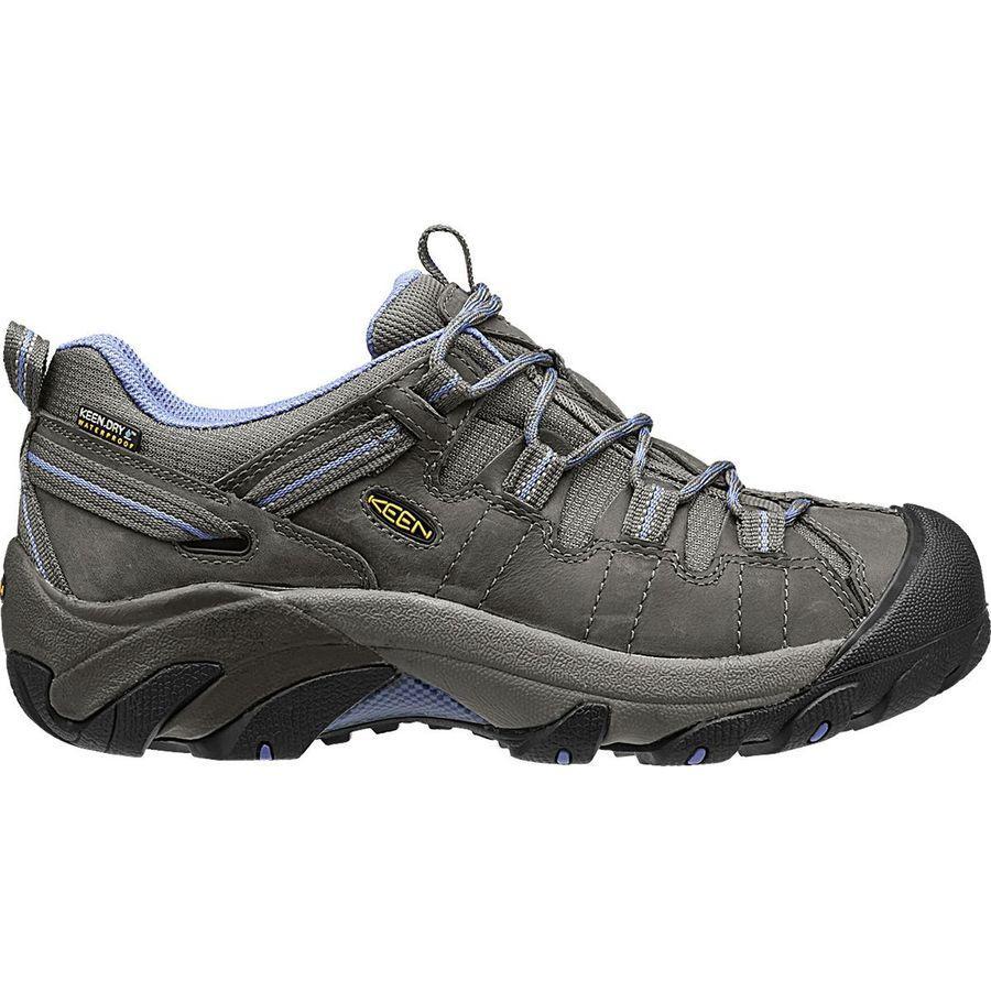 (取寄)キーン レディース ターギー 2 ハイキングシューズ KEEN Women Targhee II Hiking Shoe Magnet/Periwinkle【outdoor_d19】
