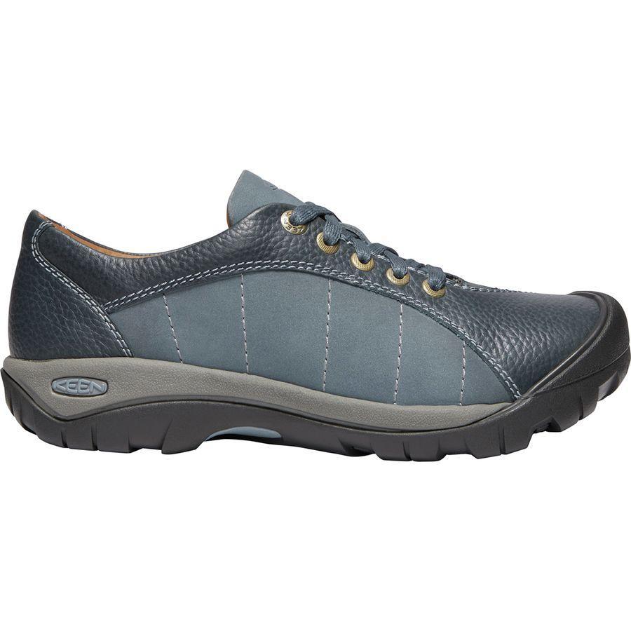(取寄)キーン レディース プレシディオ シューズ KEEN Women Presidio Shoe Flint Stone/Steel Grey