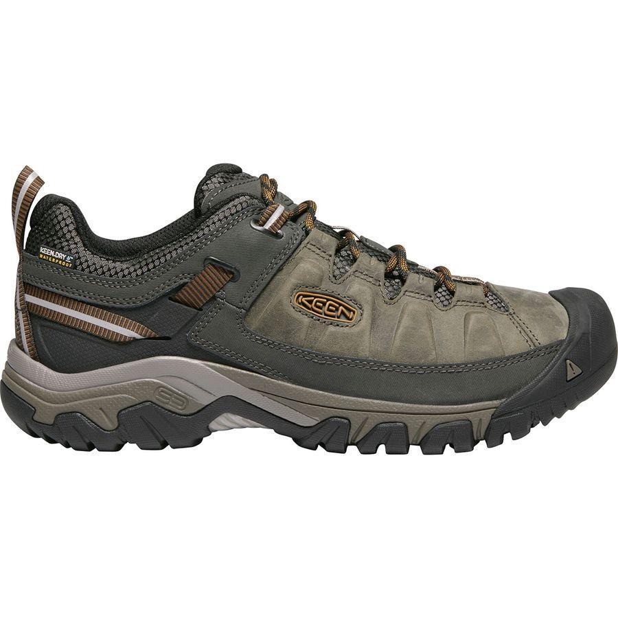 (取寄)キーン メンズ ターギー 3 ハイキングシューズ KEEN Men's Targhee III Hiking Shoe Black Olive/Golden Brown【outdoor_d19】