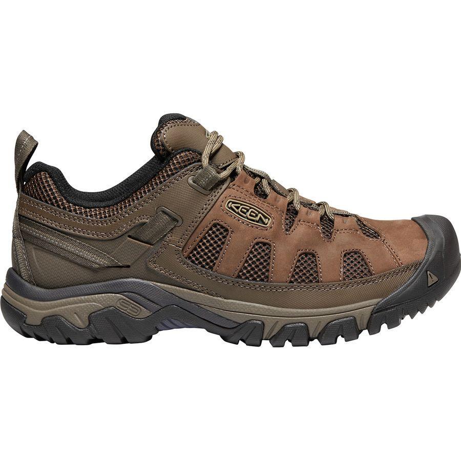 (取寄)キーン メンズ ターギー ベント ハイキングシューズ KEEN Men's Targhee Vent Hiking Shoe Cuban/Antique Bronze