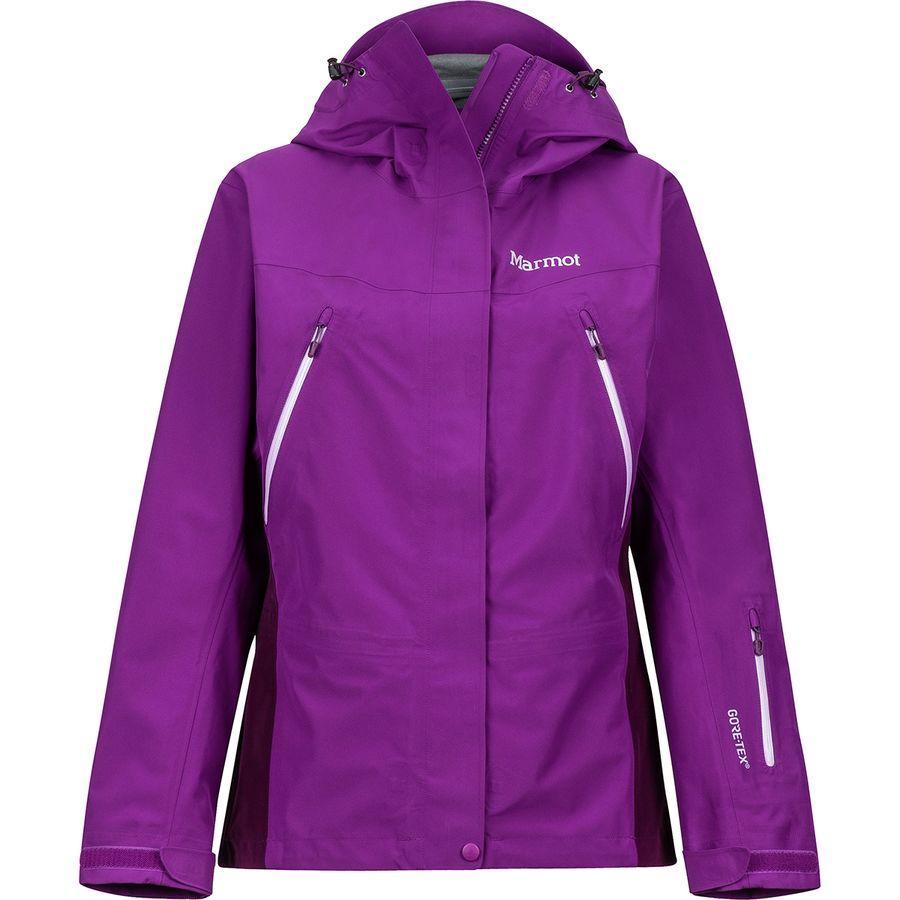 (取寄)マーモット レディース スパイアー ジャケット Marmot Women Spire Jacket Grape/Dark Purple