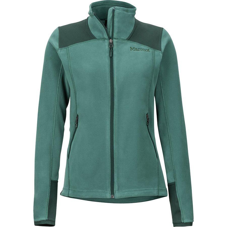 (取寄)マーモット レディース フラッシュポイント フリース ジャケット Marmot Women Flashpoint Fleece Jacket Mallard Green/Dark Spruce