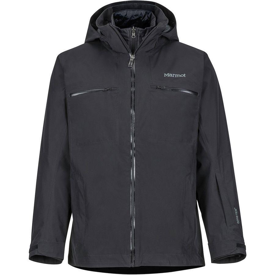 (取寄)マーモット メンズ KT コンポーネント スリーインワン ジャケット Marmot Men's KT Component 3-in-1 Jacket Black