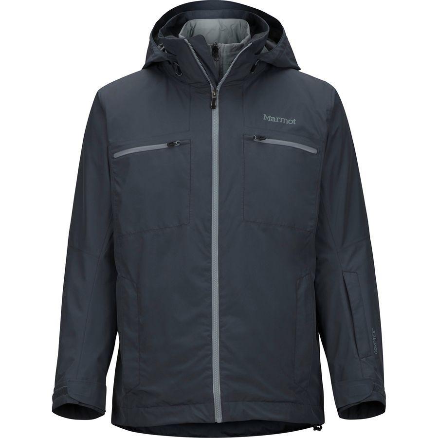 (取寄)マーモット メンズ KT コンポーネント スリーインワン ジャケット Marmot Men's KT Component 3-in-1 Jacket Steel Onyx