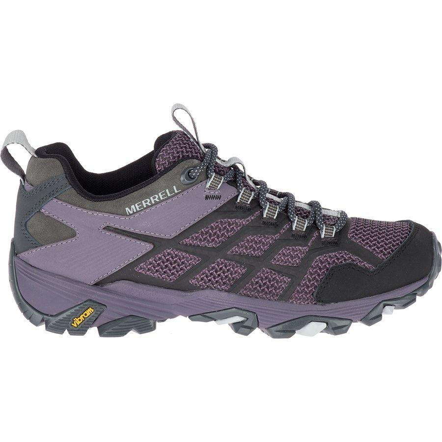 (取寄)メレル レディース モアブ FST 2 ハイキングシューズ Merrell Women Moab FST 2 Hiking Shoe Granite/Shark