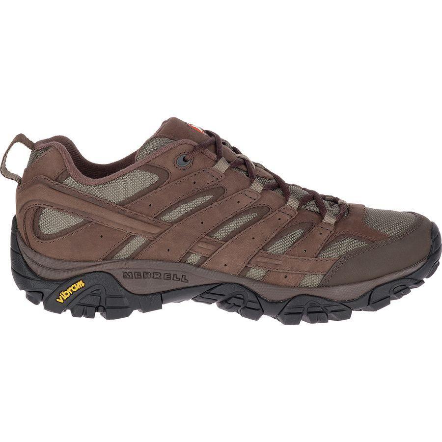 (取寄)メレル メンズ モアブ 2 スムース ハイキングシューズ Merrell Men's Moab 2 Smooth Hiking Shoe Bracken