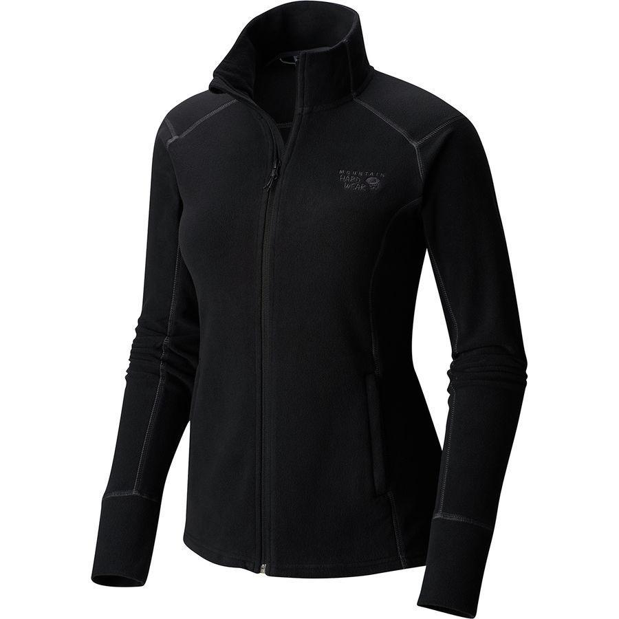 (取寄)マウンテンハードウェア レディース マイクロチル 2.0 フリース ジャケット Mountain Hardwear Women Microchill 2.0 Fleece Jacket Black
