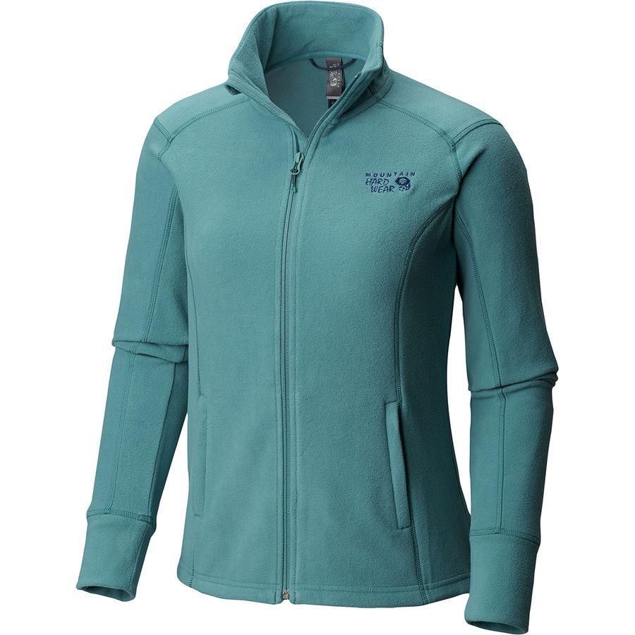 (取寄)マウンテンハードウェア レディース マイクロチル 2.0 フリース ジャケット Mountain Hardwear Women Microchill 2.0 Fleece Jacket Lakeshore Blue