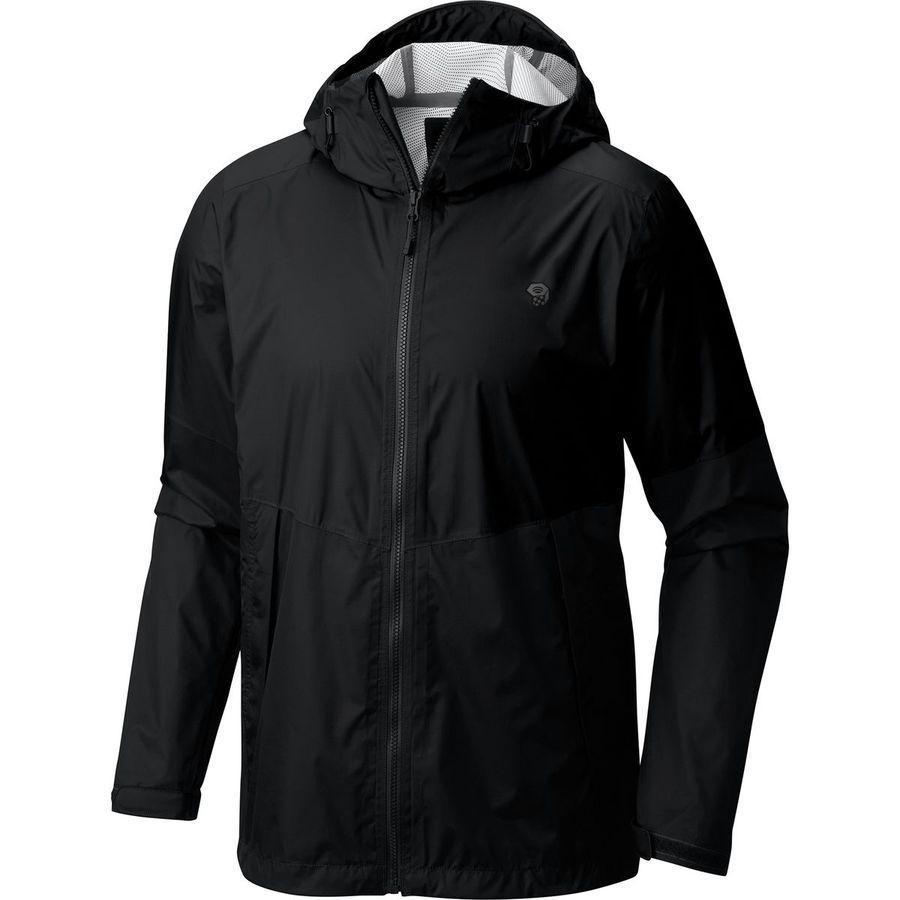 (取寄)マウンテンハードウェア メンズ エクスポーネント ジャケット Mountain Hardwear Men's Exponent Jacket Black