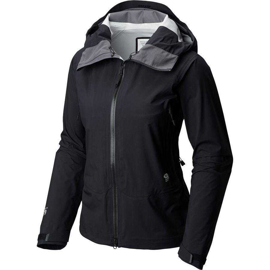 (取寄)マウンテンハードウェア レディース スーパーフォーマ ジャケット Mountain Hardwear Women Superforma Jacket Black