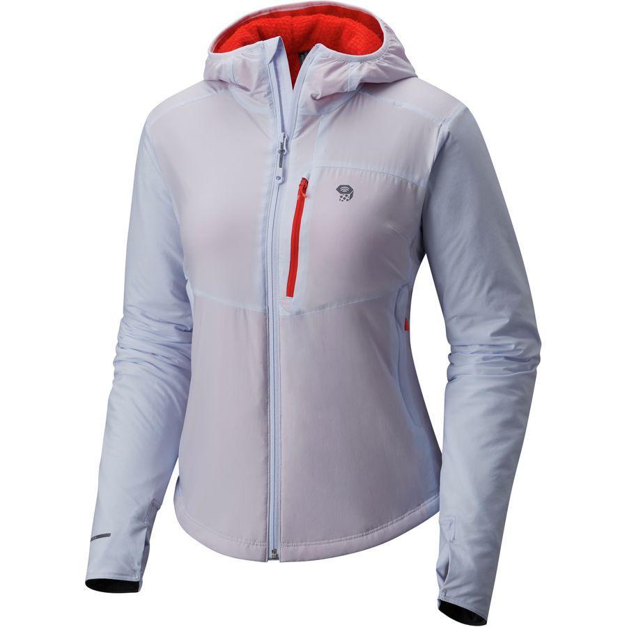 (取寄)マウンテンハードウェア レディース スカイポイント フーデッド ジャケット Mountain Hardwear Women Skypoint Hooded Jacket Atmosfear