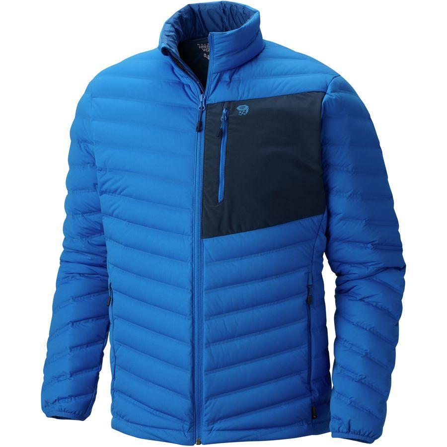 (取寄)マウンテンハードウェア メンズ ストレッチ ダウン ジャケット Mountain Hardwear Men's Stretch Down Jacket Altitude Blue