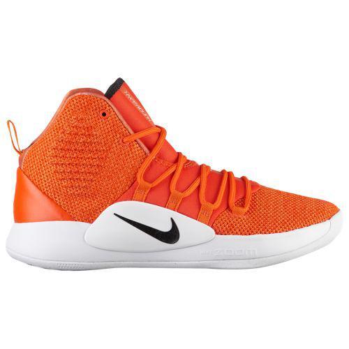 (取寄)ナイキ メンズ バッシュ ハイパーダンク 10 ミッドバスケットシューズ Nike Men's Hyperdunk X Mid Team Orange Black White