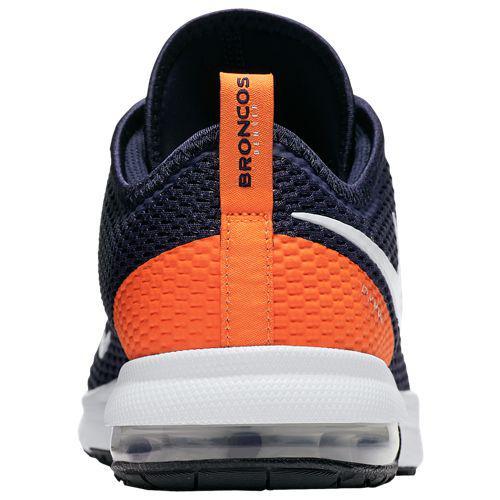new style be26c 23cbb (order) Nike men sneakers NFL Air Max Thailand F 2 Denver Broncos Nike Men s  NFL Air Max Typha 2 Denver Broncos College Navy White Brilliant Orange