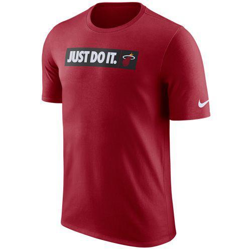 (取寄)ナイキ メンズ NBA JDI チーム Tシャツ マイアミ ヒート Nike Men's NBA JDI Team T-Shirt マイアミ ヒート Tough Red
