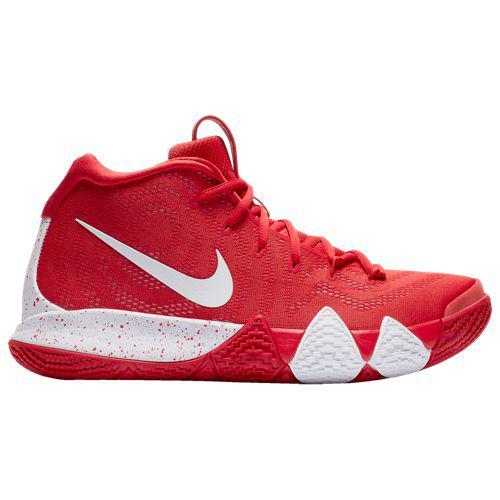(取寄)ナイキ メンズ バッシュ カイリー 4 カイリー アービング バスケットシューズ Nike Men's Kyrie 4 Kyrie Irving University Red White