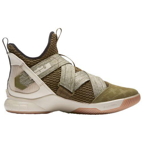 (取寄)ナイキ メンズ バッシュ レブロン ソルジャー 12 レブロン ジェームズ バスケットシューズ Nike Men's LeBron Soldier XII Lebron James Olive Canvas String Gum Light Brown