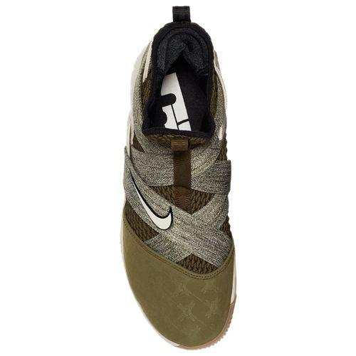 880496d0e08 (order) Nike men basketball shoes Revlon soldier 12 Revlon James basketball  shoes Nike Men s LeBron Soldier XII Lebron James Olive Canvas String Gum  Light ...