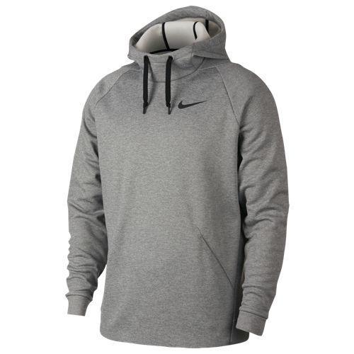 (取寄)ナイキ メンズ パーカー サーマ フーディ Nike Men's Therma Hoodie Dark Grey Heather Black