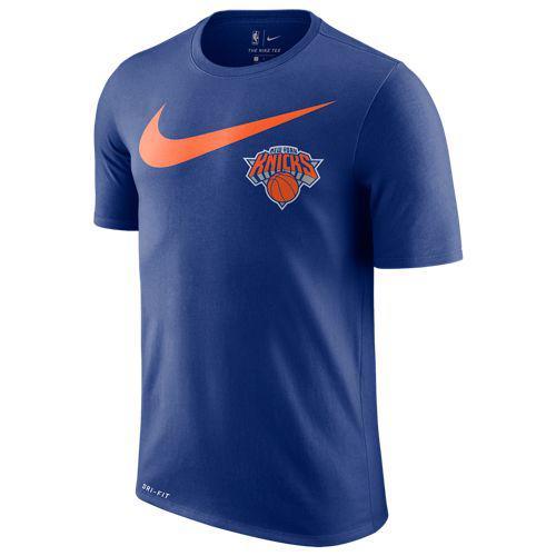 (取寄)ナイキ メンズ NBA スウッシュ チーム ロゴ Tシャツ ニュー ヨーク ニックス Nike Men's NBA Swoosh Team Logo T-Shirt ニュー ヨーク ニックス Rush Blue