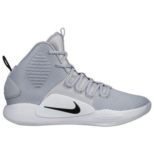 (取寄)ナイキ メンズ バッシュ ハイパーダンク 10 ミッド バスケットシューズ Nike Men's Hyperdunk X Mid Wolf Grey Black White