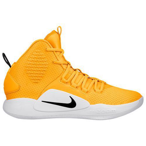 (取寄)ナイキ メンズ ハイパーダンク 10 ミッド Nike Men's Hyperdunk X Mid University Gold Black White