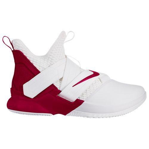 (取寄)ナイキ メンズ バッシュ レブロン ソルジャー 12 レブロン ジェームズ バスケットシューズ Nike Men's LeBron Soldier XII Lebron James White Team Red