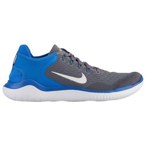 (取寄)ナイキ メンズ ランニングシューズ フリー RN トレーニングシューズ 2018 Nike Men's Free RN 2018 Gunsmoke White Signal Blue Thunder Grey