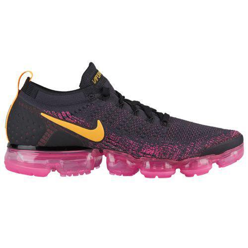 (取寄)ナイキ メンズ ランニングシューズ スニーカー エアヴェイパーマックス フライニット 2 Nike Men's Air Vapormax Flyknit 2 Gridiron Laser Orange Pink Blast Black
