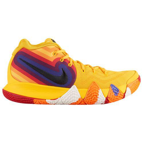 separation shoes 84356 5e9eb SWEETRAG Rakuten Ichiba Shop  (order) Nike men basketball shoes chi Lee 4  chi Lee Irving basketball shoes Nike Men s Kyrie 4 Kyrie Irving Amarillo  Black ...
