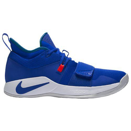 (取寄)ナイキ メンズ バッシュ PG 2.5 ポール ジョージ バスケットシューズ Nike Men's PG 2.5 Paul George Racer Blue White Clear Emerald Siren Red
