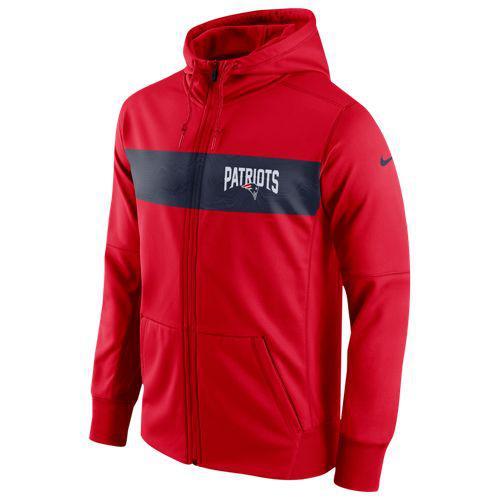 (取寄)ナイキ メンズ NFL サイドライン サーマ シズミック FZ サーマ フーディ NFL ニュー Nike イングランド ペイトリオッツ Nike Men's NFL Sideline Therma Seismic FZ Hoodie ニュー イングランド ペイトリオッツ University Red, ナラカワムラ:8d6a63ab --- m2cweb.com