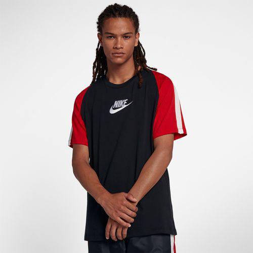 (取寄)ナイキ メンズ N98 アーカイブ Tシャツ Nike Men's N98 Archive T-Shirt Black University Red