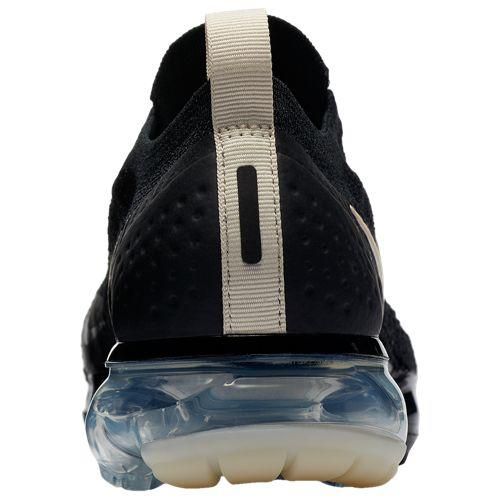 detailed look c9cde 08d1b (order) Nike Lady s running shoes sneakers air vapor max fried food knit  mock 2 Nike Women s Air VaporMax Flyknit Moc 2 Black Lt Cream White Thunder  Grey