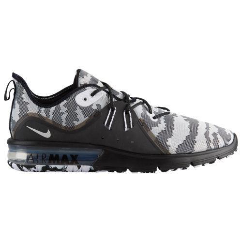 (取寄)ナイキ メンズ ランニングシューズ エアマックス シークエント 3 Nike Men's Air Max Sequent 3 Black White