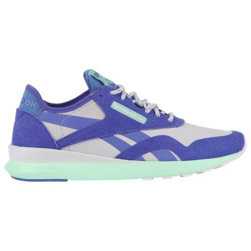 (取寄)リーボック レディース クラシック ナイロン SP Reebok Women's Classic Nylon SP Spirit White White Ultimate Purple