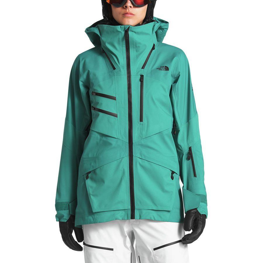 【クーポンで最大2000円OFF】(取寄)ノースフェイス レディース フューズ ブリガンダイン ジャケット The North Face Women Fuse Brigandine Jacket Kokomo Green Fuse【outdoor_d19】